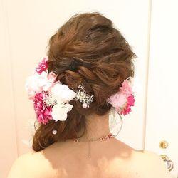 カラードレス♡ピンクライアスの写真 5枚目