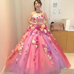カラードレス♡ピンクライアスの写真 4枚目