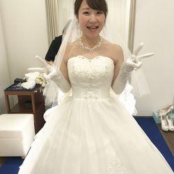 ウェディングドレス♡クラプフェンの写真 6枚目