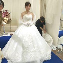 ウェディングドレス♡クラプフェンの写真 5枚目