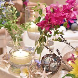 装花、ウェディングケーキの写真 4枚目