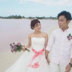 新婚旅行:ピンクレイク(メキシコ)の写真 4枚目