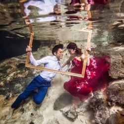 新婚旅行:セノーテ(メキシコ)の写真 1枚目