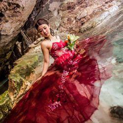 新婚旅行:セノーテ(メキシコ)の写真 3枚目