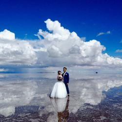 新婚旅行:ウユニ塩湖(ボリビア)の写真 4枚目