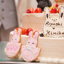 オリジナルケーキ・オリジナル料理の写真 4枚目