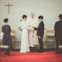 家族挙式の写真 1枚目