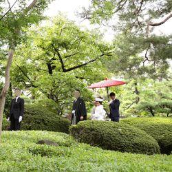 花嫁御寮〜庭園撮影の写真 3枚目