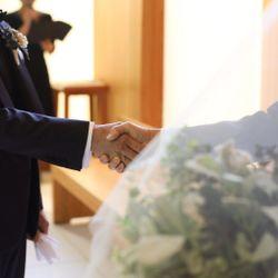 挙式前リハーサルの写真 2枚目
