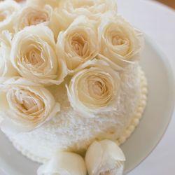 ウェディングケーキ(ハワイ挙式、国内披露宴)の写真 2枚目