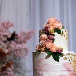 ウェディングケーキ(ハワイ挙式、国内披露宴)の写真 4枚目