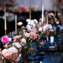 国内披露宴装花、会場装飾の写真 4枚目