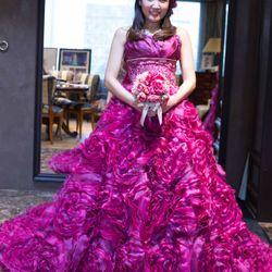 カラードレス試着の写真 4枚目
