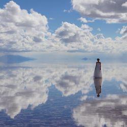 前撮り(ウユニ塩湖)の写真 1枚目