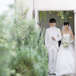挙式後ガーデンセレモニーの写真 2枚目