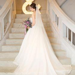 wedding dress 👗の写真 1枚目