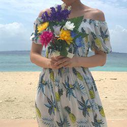 沖縄セルフ前撮りの写真 1枚目