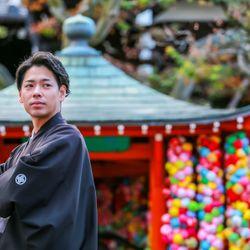 京都和装前撮りの写真 3枚目