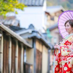 京都和装前撮りの写真 4枚目