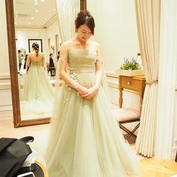 ドレス試着の写真 4枚目