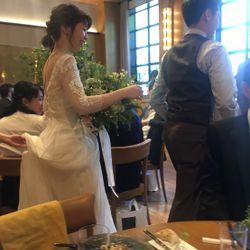 お色直しドレスの写真 4枚目