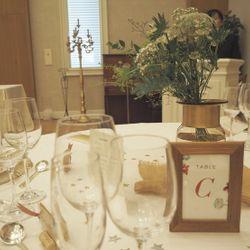 料理、会場装飾の写真 8枚目