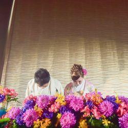 披露宴和装の写真 3枚目