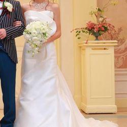 ウエディングドレス2の写真 2枚目