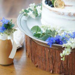 ウエディングケーキの写真 1枚目