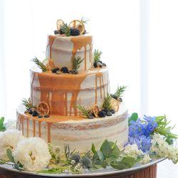 ウエディングケーキの写真 3枚目