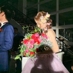 披露宴 カラードレスの写真 2枚目