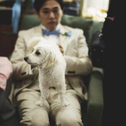 愛犬と一緒のwedding の写真 2枚目
