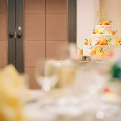 ウェディングケーキ・カラードリップの写真 3枚目