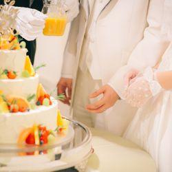 ウェディングケーキ・カラードリップの写真 4枚目