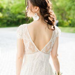 ウェディングドレス2着目の写真 2枚目