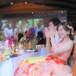 6披露宴(新婦側余興→サプライズ)の写真 4枚目