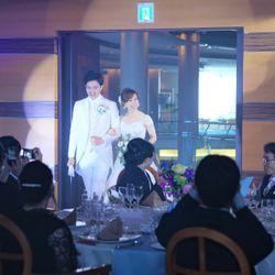 1披露宴(入場~メインフテーブルフォト)の写真 1枚目