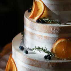 ウェディングケーキの写真 3枚目