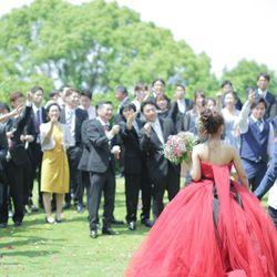 ドレス色当て&バルーンリリース の写真 2枚目