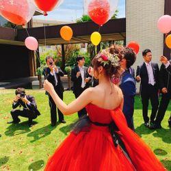 ドレス色当て&バルーンリリース の写真 3枚目