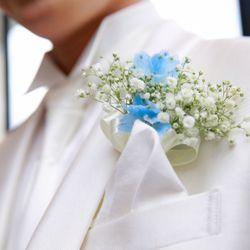 ✨Something blue bouquet &胡蝶蘭bouquet✨の写真 1枚目