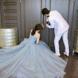 ✨My dress is Blue gray✨の写真 4枚目