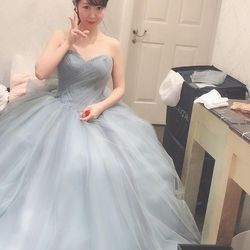 ✨My dress is Blue gray✨の写真 1枚目