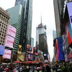 婚約後のニューヨーク旅行の写真 1枚目
