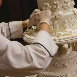 お料理、ウェディングケーキの写真 3枚目