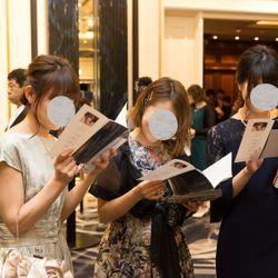 披露宴前ゲストの写真 3枚目