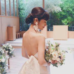 【帰国後アフターパーティー】ウェディングドレスの写真 3枚目