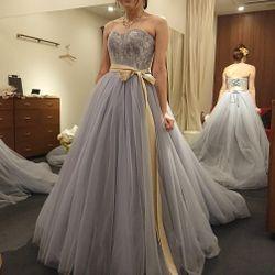 試着したドレスの写真 1枚目