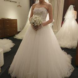 試着したドレスの写真 3枚目