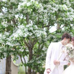 ウエディングドレス前撮りの写真 3枚目